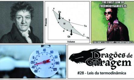 Dragões de Garagem #28 Leis da termodinâmica
