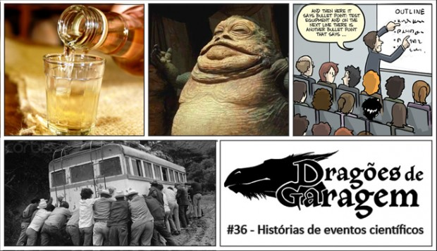 Dragões de Garagem #36 Histórias de eventos científicos