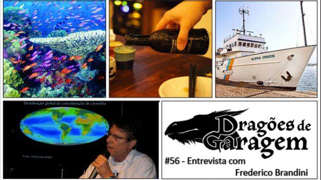 Dragões de Garagem #56 Entrevista com Frederico Brandini