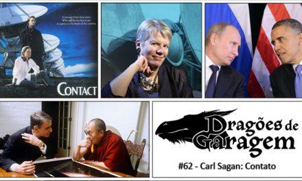 Dragões de Garagem #62 Carl Sagan: Contato