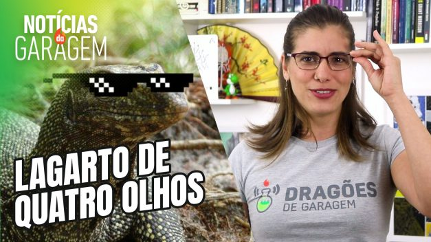 RÉPTIL DE QUATRO OLHOS