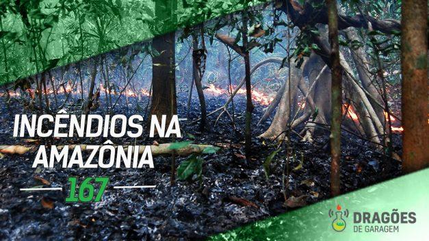 Dragões de Garagem #167 Incêndios na Amazônia