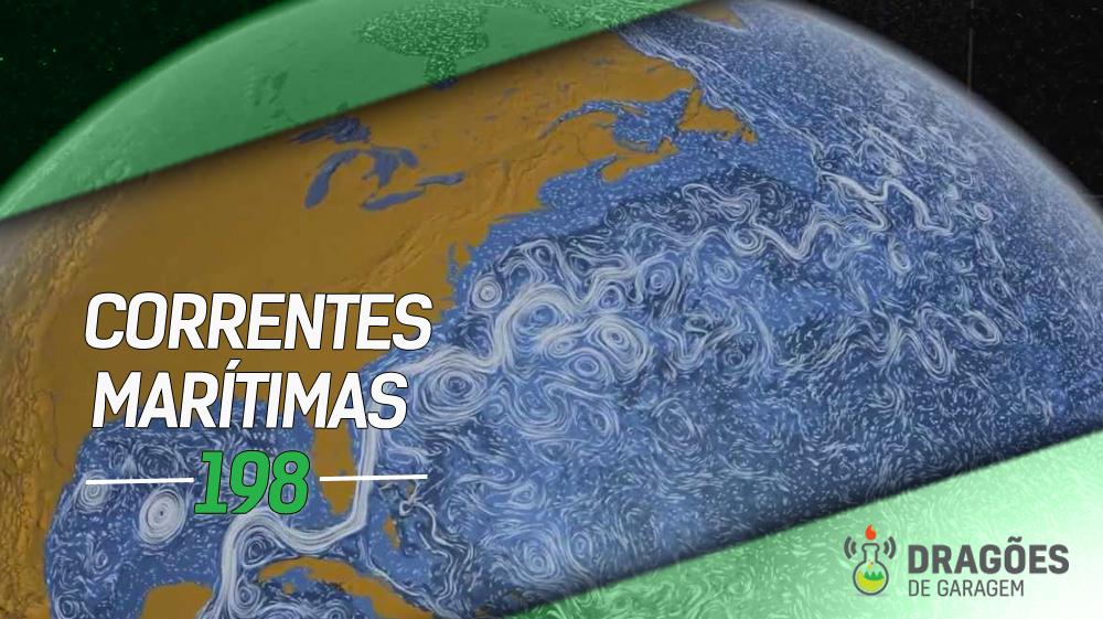 Imagem do globo terrestre com desenhos de linhas brancas no oceano no formato das correntes marítimas. O estilo das linhas e ons tons usados na foto remetem à pintura Noite Estrelada de Van Gogh