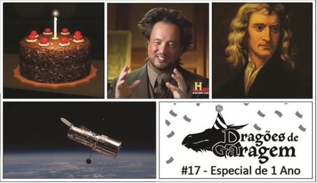 Dragões de Garagem #17 Especial de 1 Ano