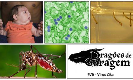 Dragões de Garagem #76 Vírus Zika