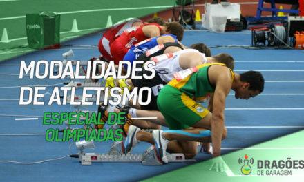 Dragões de Garagem Especial Olimpíadas – Modalidades de Atletismo