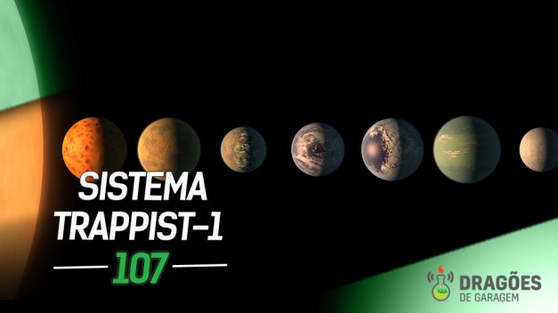 Dragões de Garagem #107 Sistema TRAPPIST-1